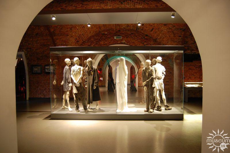 Фрагмент экспозиции 3-го зала (Испытание)